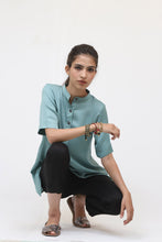 Load image into Gallery viewer, Mint Green Short Sleeve Top