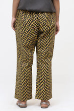 Load image into Gallery viewer, Yellow zig zag pants