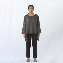 Load image into Gallery viewer, Short Kaftan Grey