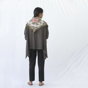 Short Kaftan Grey