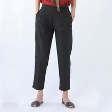 Load image into Gallery viewer, Black Slim Pants