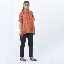 Load image into Gallery viewer, Short Sleeve Orange Top