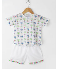 Load image into Gallery viewer, Circus Elephant Pyjama Set