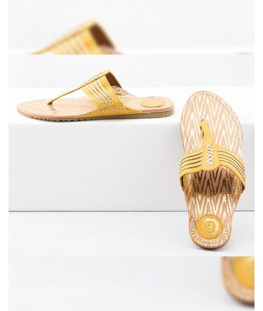 Chappal Yellow /  Gold