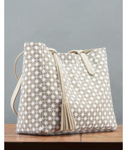 Load image into Gallery viewer, Avni Reversable Tote Bag : Beige