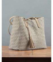 Load image into Gallery viewer, Avni Reversable Tote Bag : Khaki