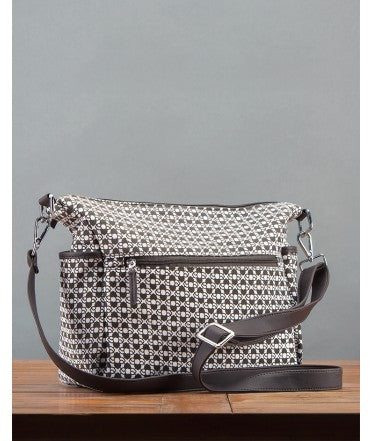 Ojala Cross Body Bag : Charcoal
