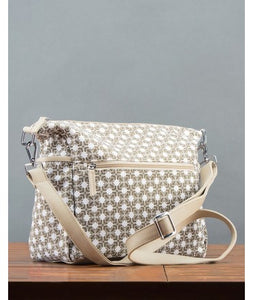 Ojala Cross Body Bag : Beige