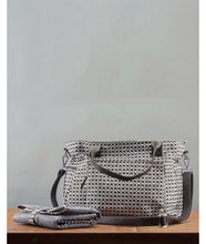 Load image into Gallery viewer, Khushi Diaper Bag : Charcoal