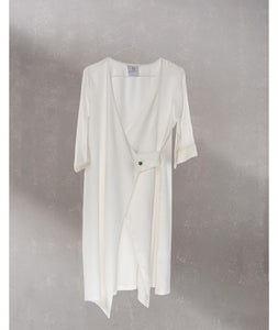 Wrap Dress  : Off White