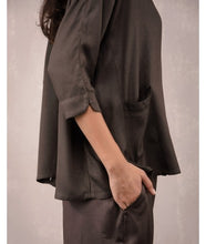 Load image into Gallery viewer, Drawstring Comfort Travel Pants : Charcoal