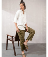 Load image into Gallery viewer, Drawstring Comfort Travel Pants : Khaki