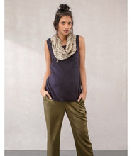 Load image into Gallery viewer, Pocket Sleeveless Top :  Khaki