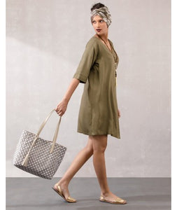 Wrap Dress  : Khaki