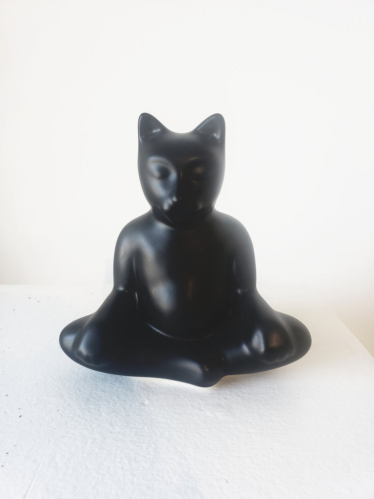 Gary Steinborn Large Buddha Kitty