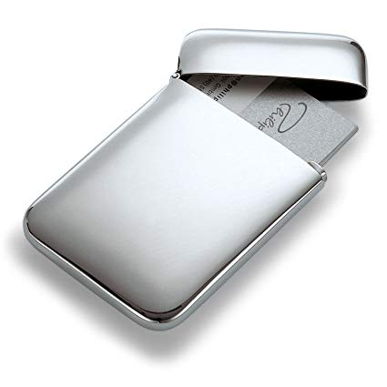 Philippi stainless steel business card holder