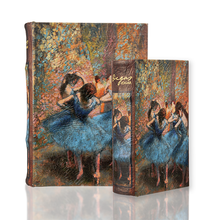BOOK BOX BALLET BALLERINAS EDGAR DEGAS FINE ART HISTORY FRANCE HOME ourgallerystore museum store contemporary art high design functional art