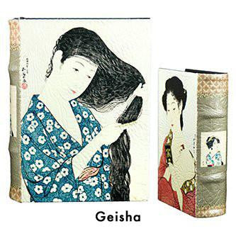BOOK BOXES GEISHA FINE ART HISTORY JAPAN HOME ourgallerystore museum store contemporary art high design functional art