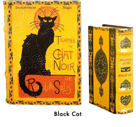 BOOK BOXES PARIS BLACK CAT AU CHAT NOIR FINE ART HISTORY HOME ourgallerystore museum store contemporary art high design functional art