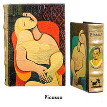 BOOK BOXES PICASSO EARRING FINE ART HISTORY HOME ourgallerystore museum store contemporary art high design functional art