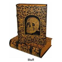 BOOK BOXES SKULL MEMENTO MORI FINE ART HISTORY HOME ourgallerystore museum store contemporary art high design functional art