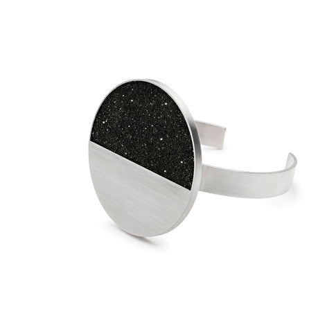 Bellatrix Diamond Dust and Steel Cuff