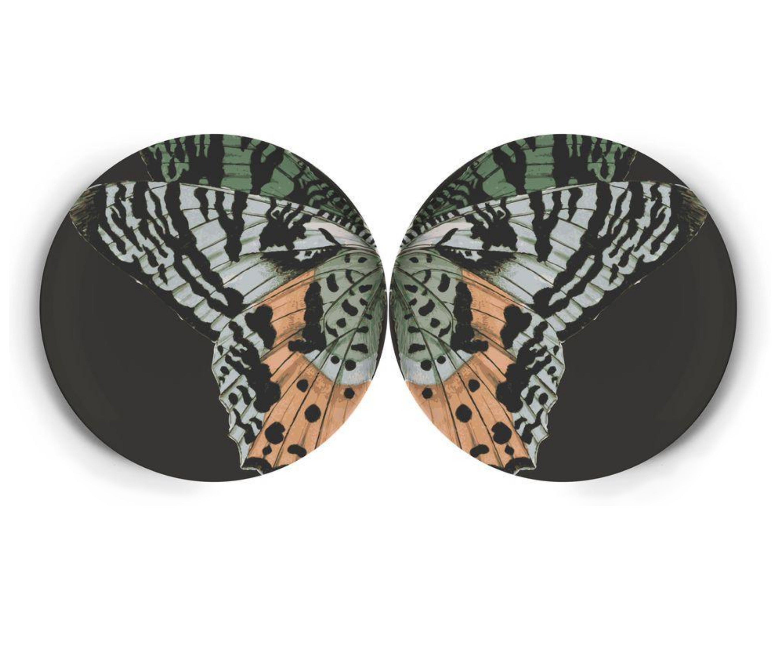 "Metamorphosis Dinner Plate, 11"" diameter"