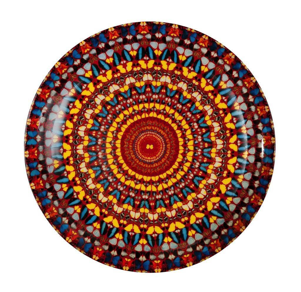 DAMIEN-HIRST-I-AM-BECOME-DEATH-SHATTERER-OF-WORLDS-PLATE-HOME-DECOR-DINING-GIFT-CHINA-KALEIDOSCOPE-ourgallerystore-museum-store-contemporary-art-high-design-functional-art