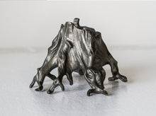 DEAR-SWALLOW-TREE-STUMP-CANDLE-HOLDER-CANDELABRA-HOME-SCULPTURE-TABLETOP-PEWTER-ourgallerystore-museum-store-contemporary-art-high-design-functional-art