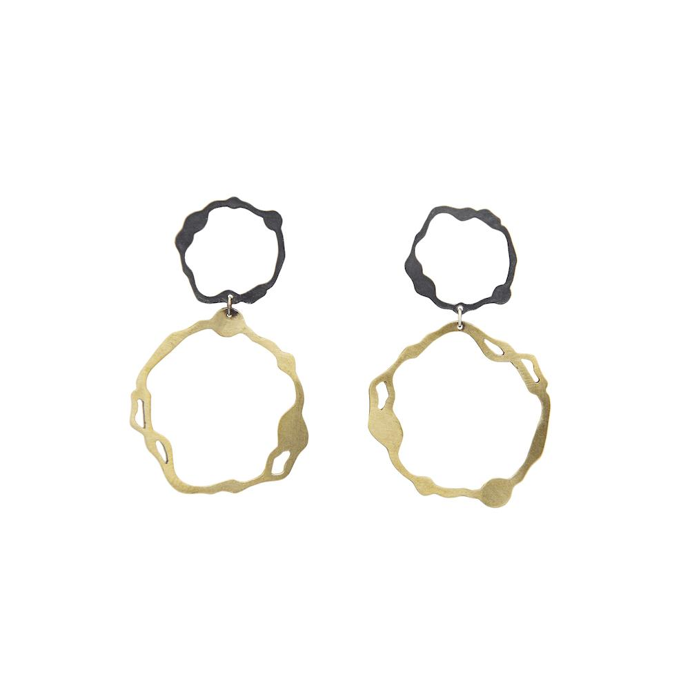 Denisa Piatti Dangle Komu Earrings
