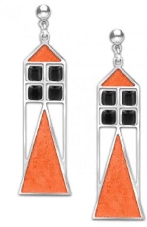 David Howell Babson Window Earrings