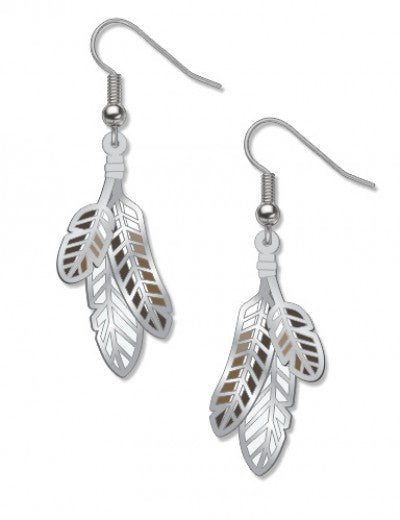 X David Howell Red-Tailed Hawk Earrings