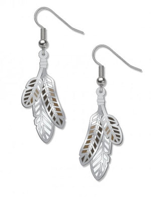 David Howell Red-Tailed Hawk Earrings