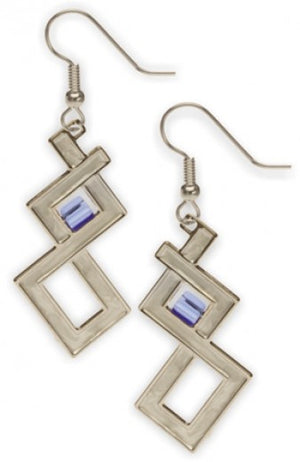 David Howell Sullivan Window Earrings