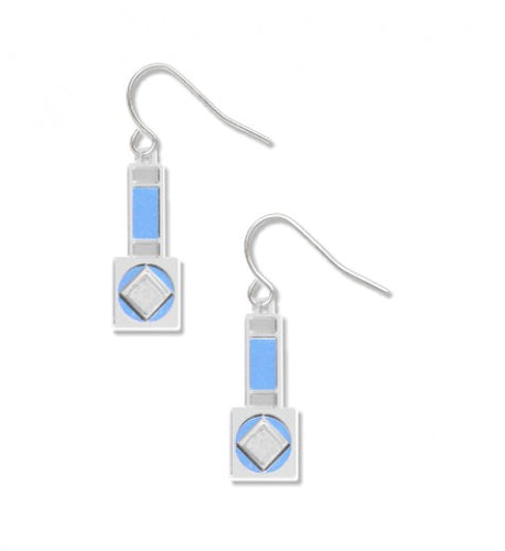 David Howell Tiffany Mosaics Earrings