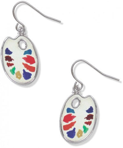 David Howell Watercolor Palette Earrings