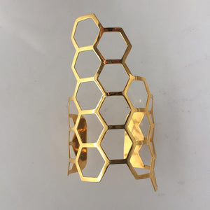 Azenya Burdett Hexagon Coherence Cuff 4mm
