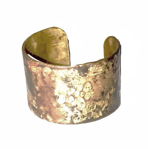 Maddalena Bearzi Silver and Brass Ring