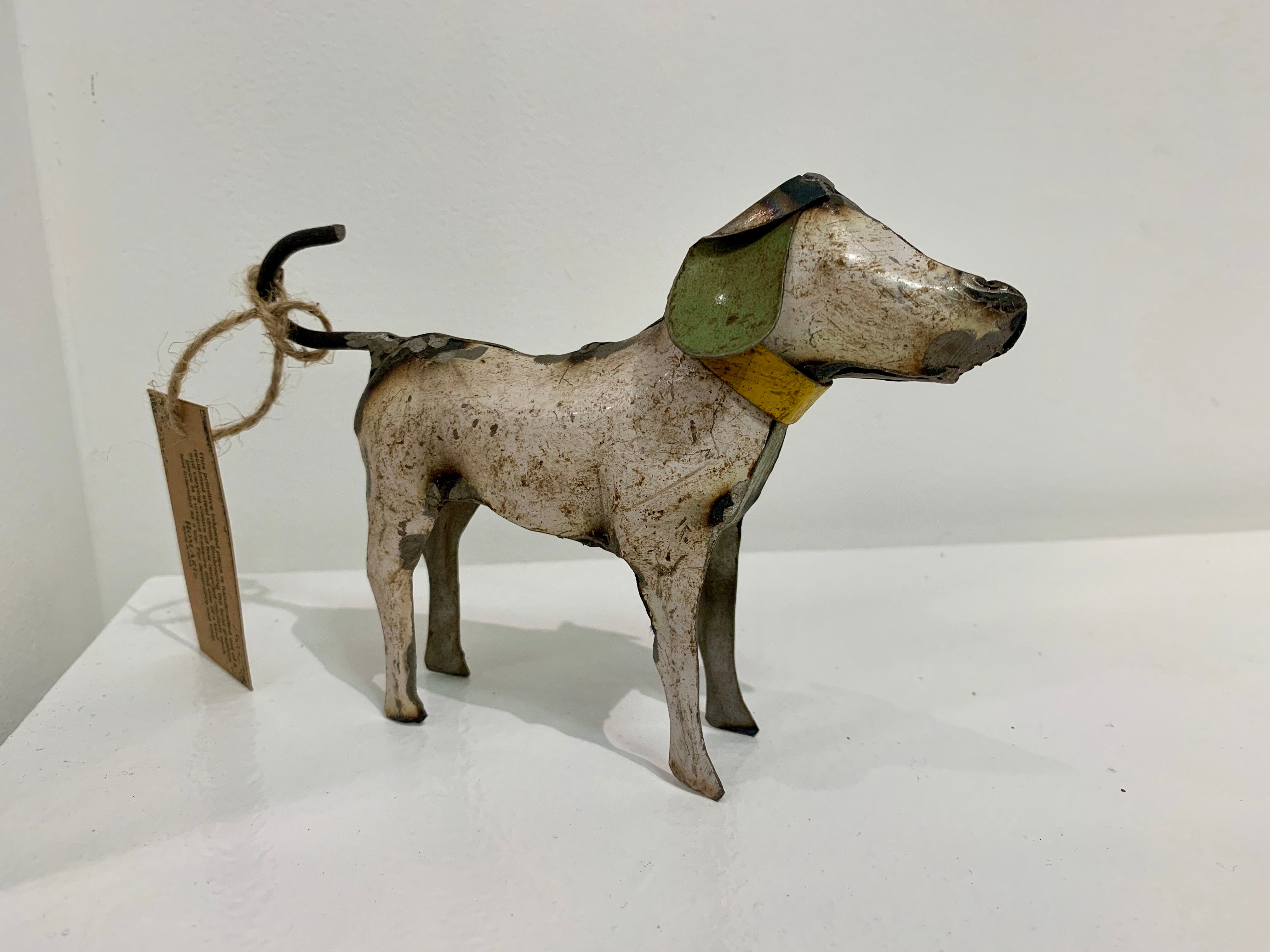 Reclaimed Metal Dogs
