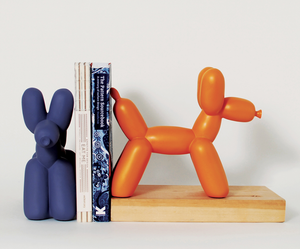 IMM-BIG-TOP-BALLOON-DOG-BOOKEND-HOME-DECOR-LIBRARY-BOOKS-SHELF-STAND-FUN-GIFT-ourgallerystore-museum-store-contemporary-art-high-design-functional-art