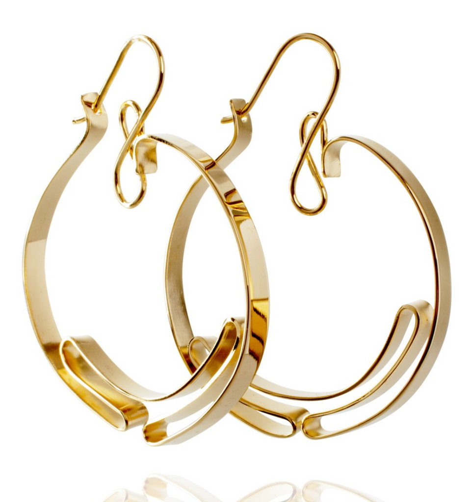 Mia Habib Insider Hoop Earrings