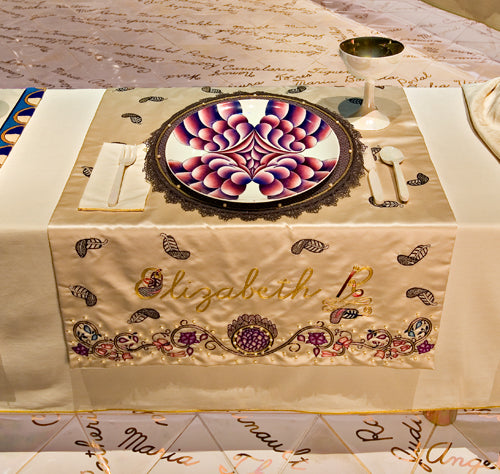 Judy Chicago The Dinner Party Elizabeth