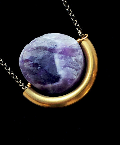 Sun and Moon Necklace- Larissa Loden