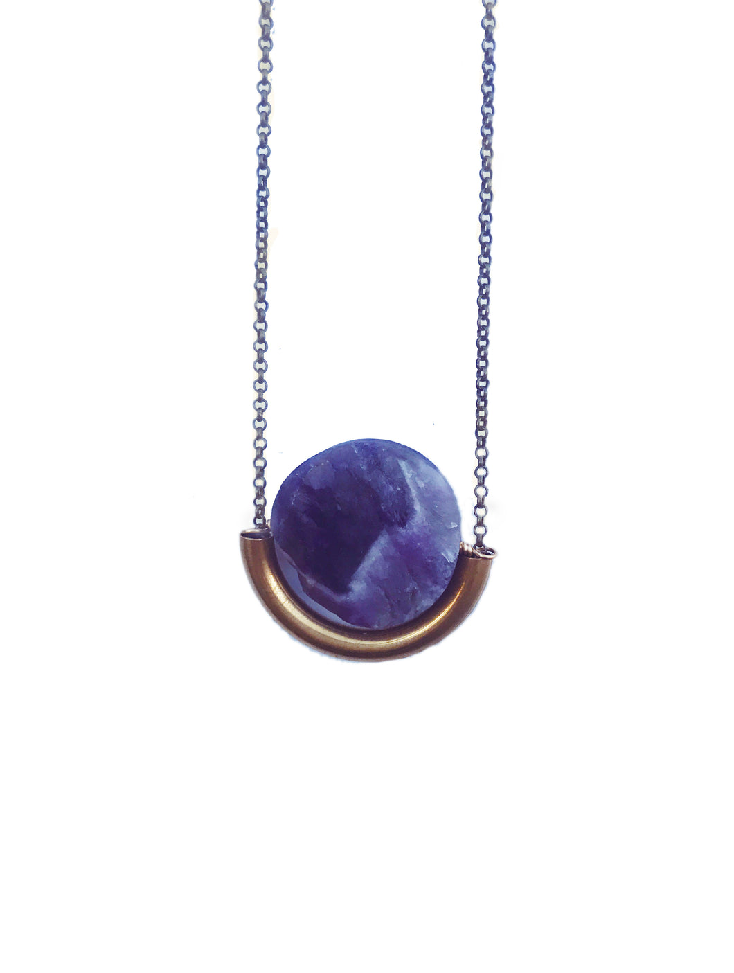Larissa Loden Sun and Moon Necklace