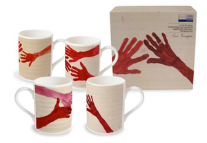 Louise Bourgeois Bone China Mug Set of Four in Gift Box