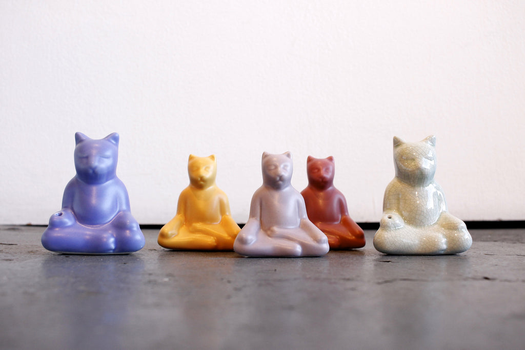 Buddha Cat by Venice Clay