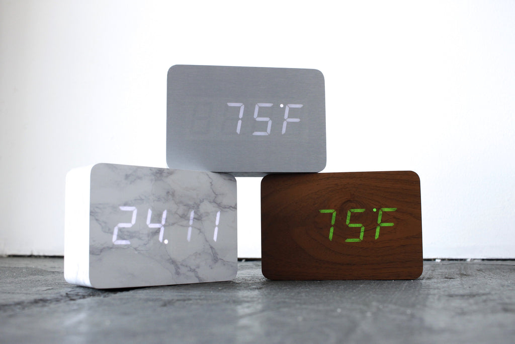 Click Clock Brick Clocks