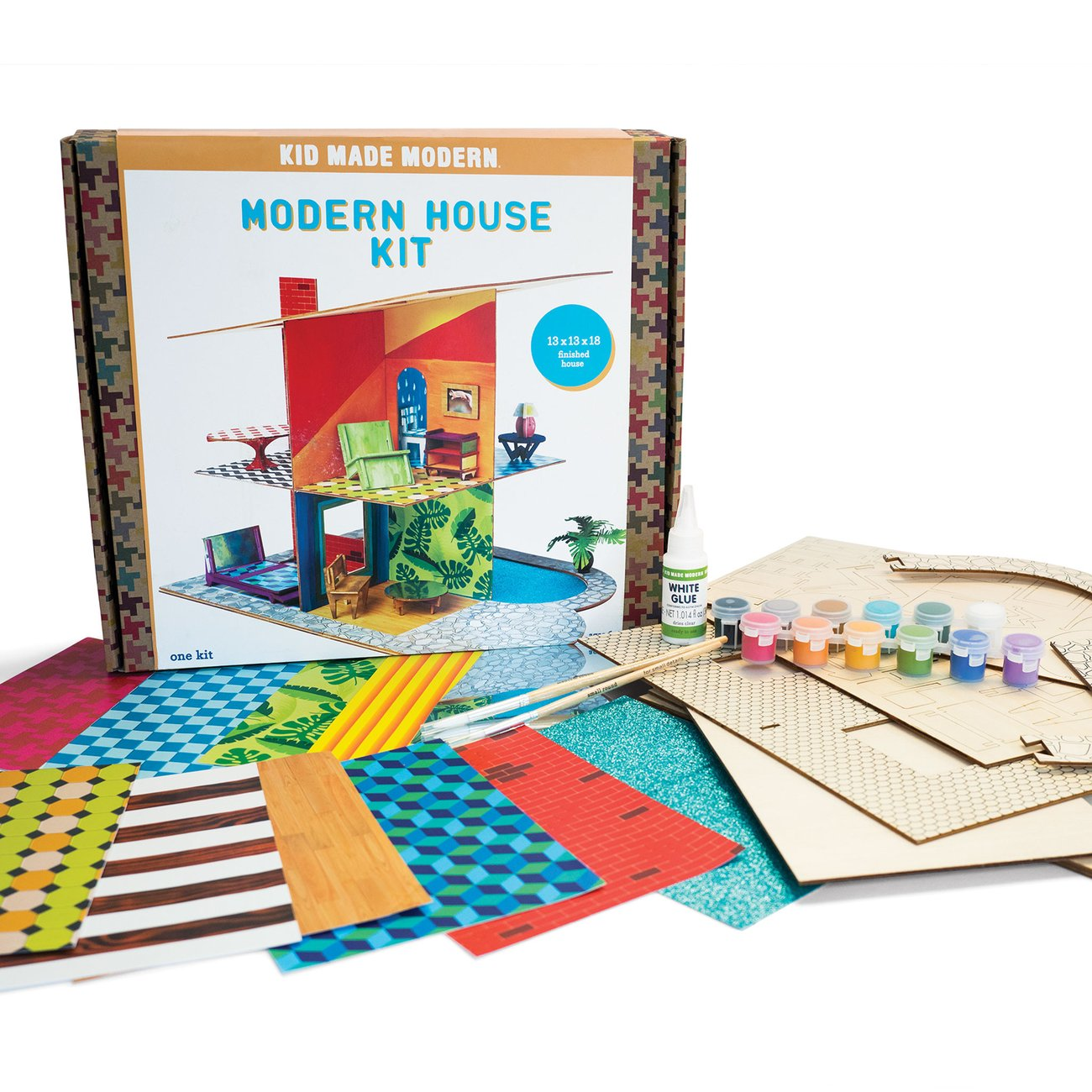 Modern House Craft Kit