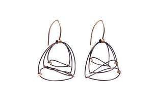 Meghan Patrice Riley Swirl Earrings