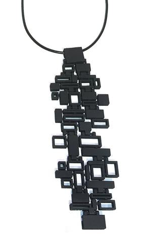 Melissa Borrell Mosaic Pendant Necklace